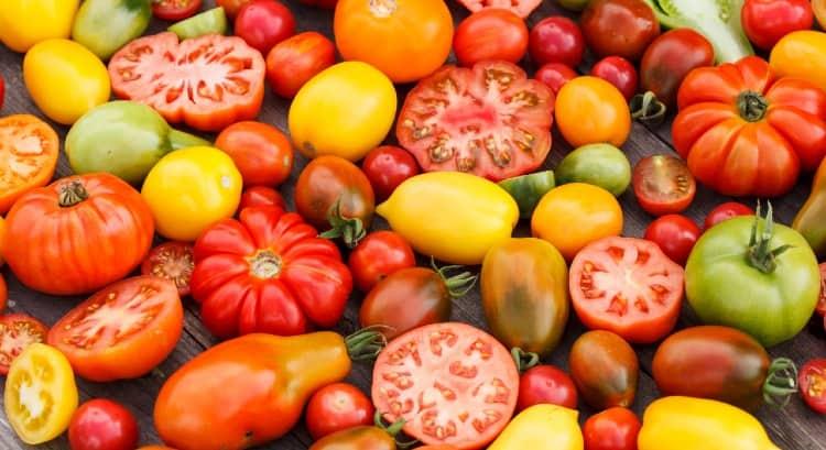 זנים של עגבניות פרוסות