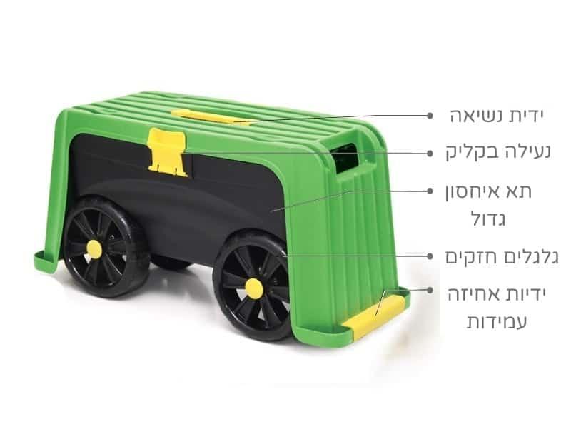 תכונות של ארגז כלים לגינה