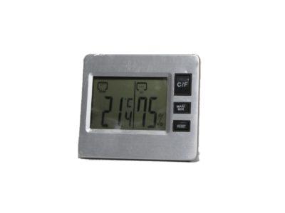 מד טמפרטורה ולחות לחממה ביתית